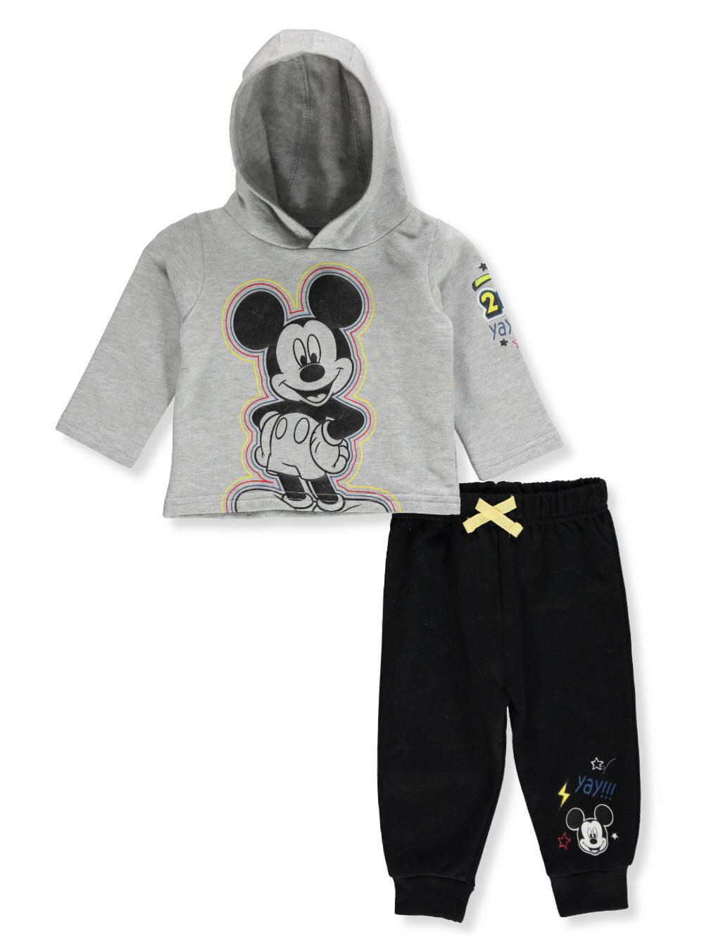 069544865 Disney Mickey Mouse Baby Boys  2-Piece Pants Set Outfit