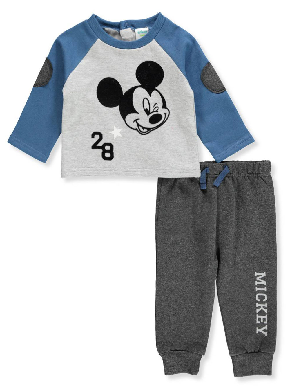 fc42c434c Disney Mickey Mouse Baby Boys  2-Piece Pants Set Outfit