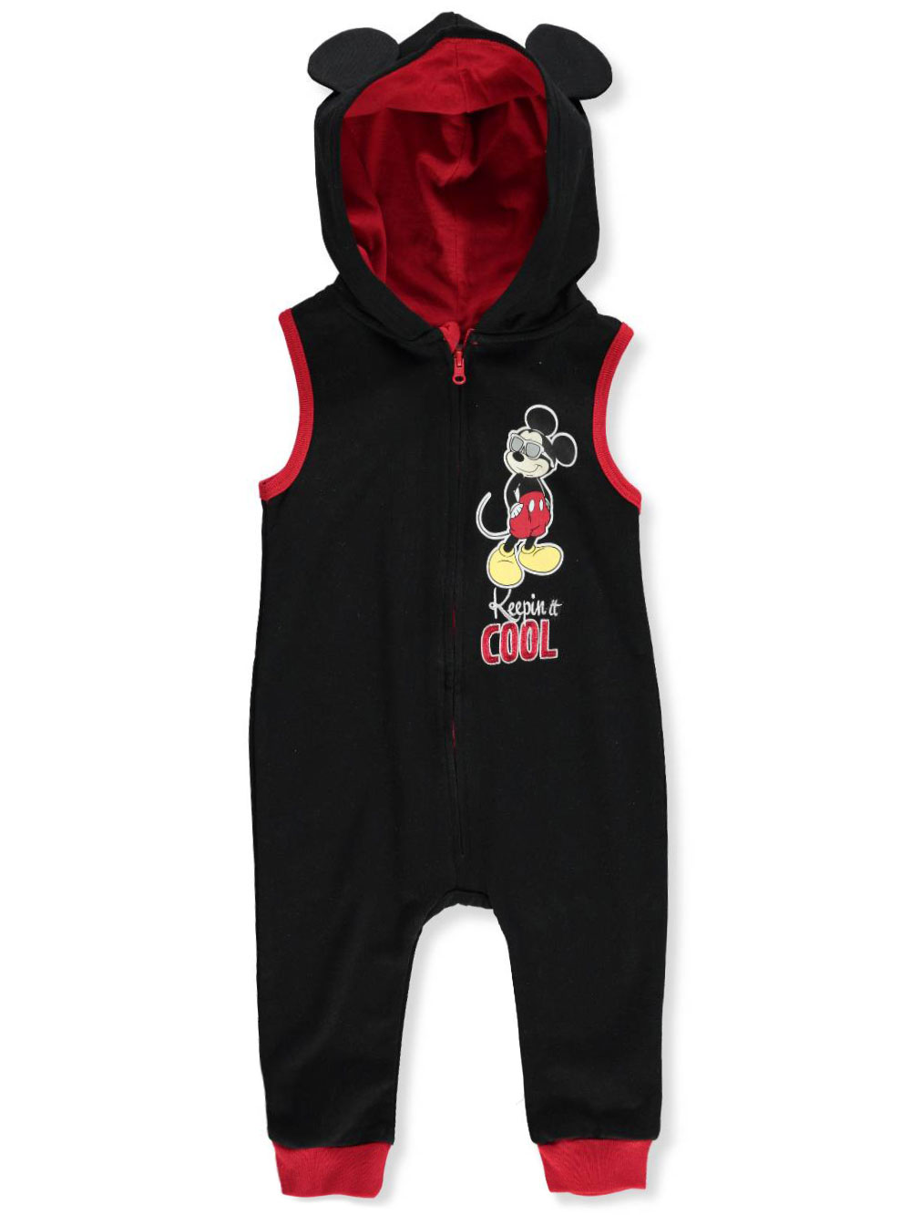 a4ad5d8d1 Disney Mickey Mouse Baby Boys' Hooded Coverall