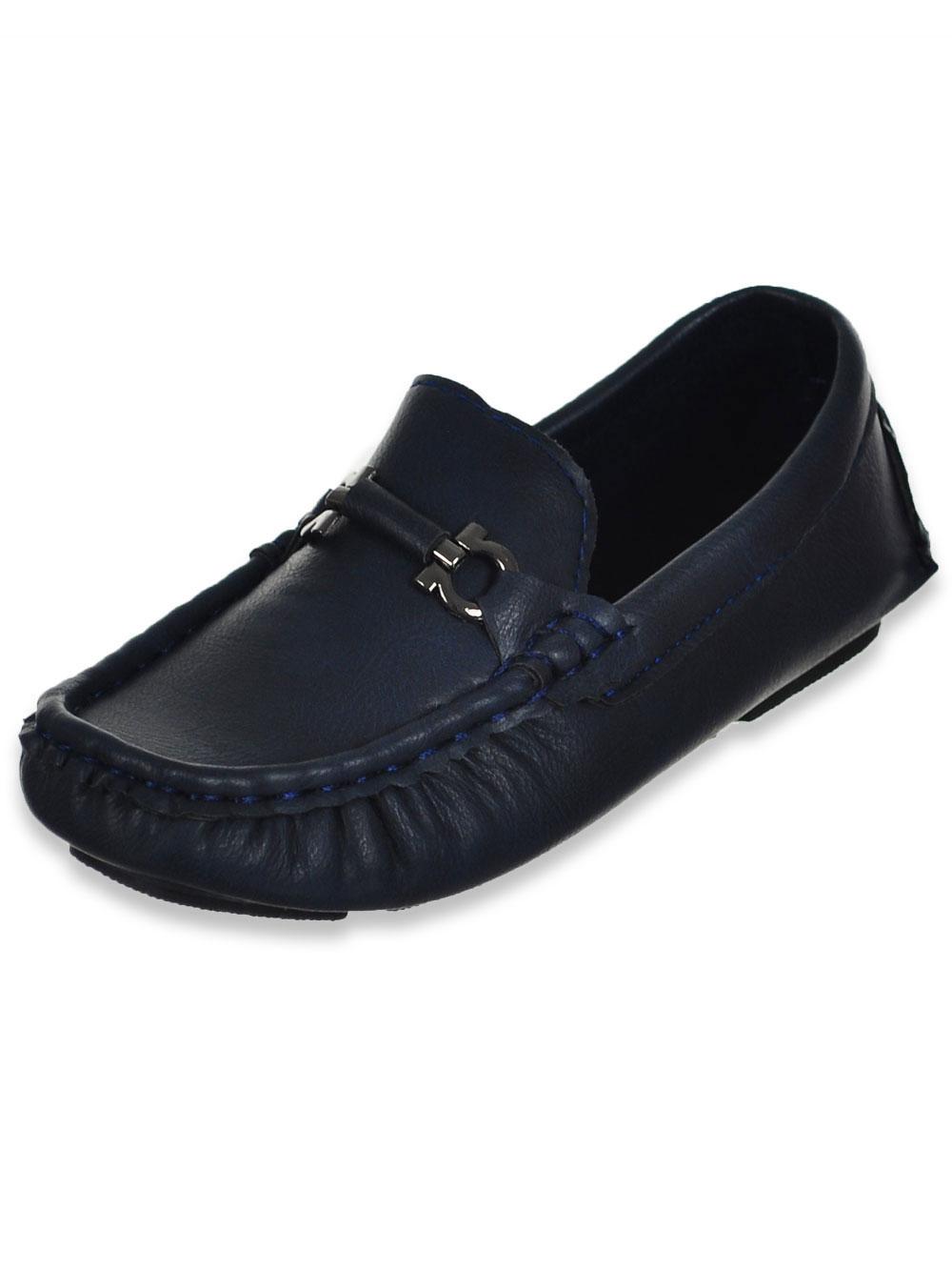 f61ff305c Eddie Marc Boys' Driving Loafers (Sizes 5 – 4)