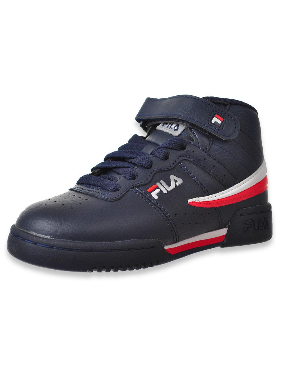 Fila Boys' F 13 Hi Top Sneakers (Sizes 11 – 7)