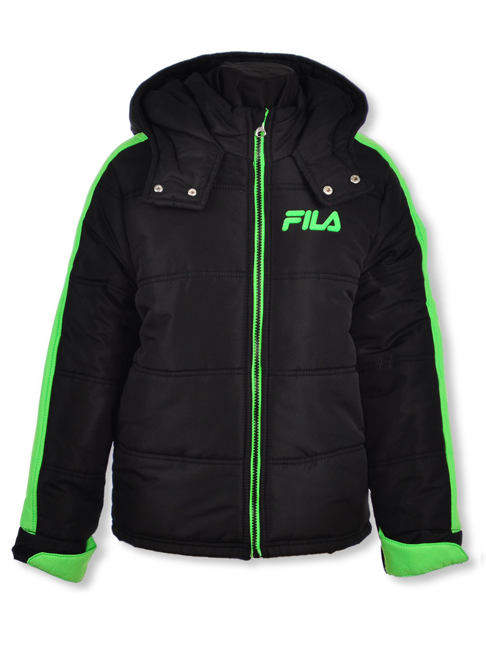 Fila Boys' Trimmed Sleeve Insulated Jacket