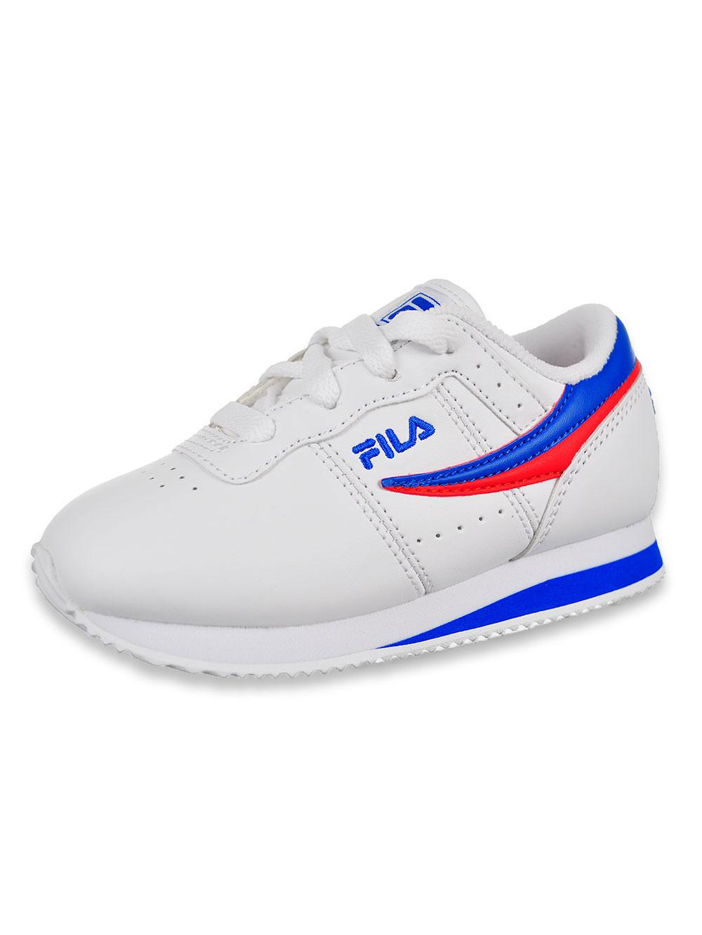 Fila Boys' Machu Low Top Sneakers (Sizes 7 – 10)