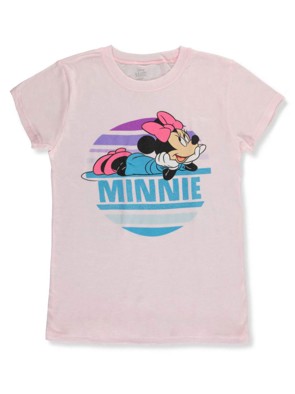 Minnie Mouse Girls 7-16 Youth T-Shirt Pink