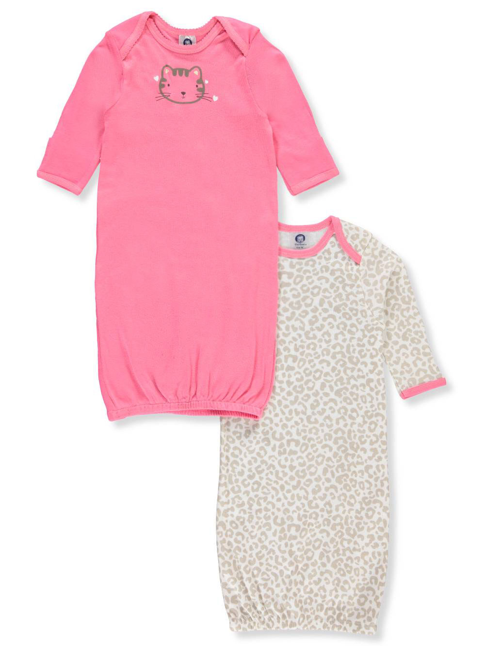 Gerber Baby Girls\' 2-Pack Sleep Gowns