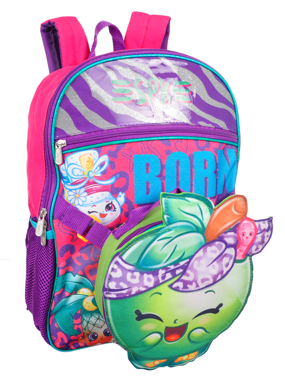 Shopkins Backpack with Insulated Lunchbox 04fa720208db0