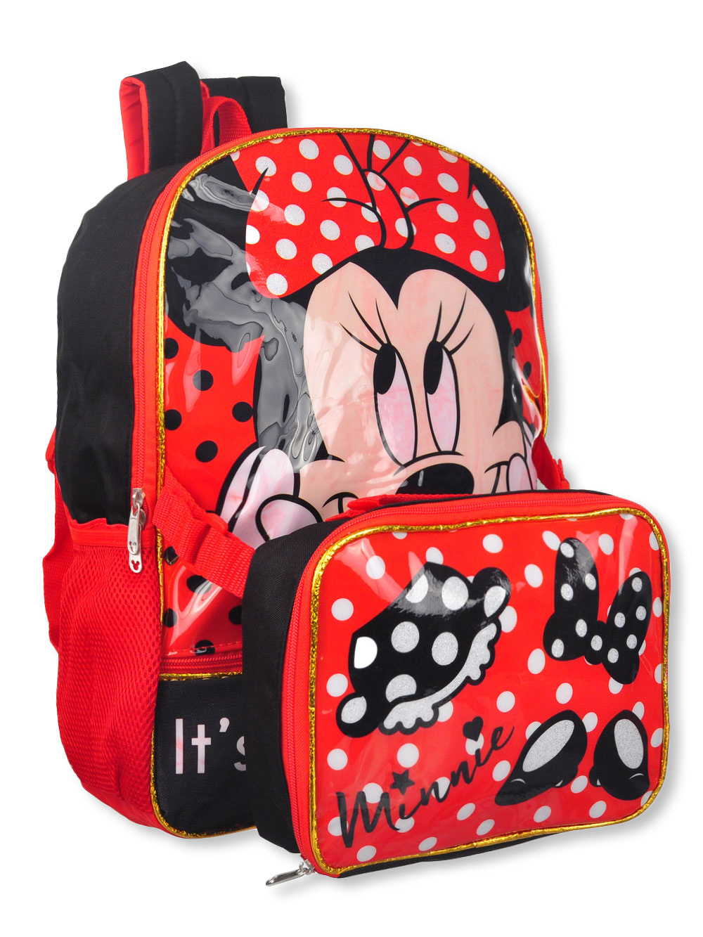 b0706109d7d Disney Minnie Mouse Backpack with Insulated Lunchbox