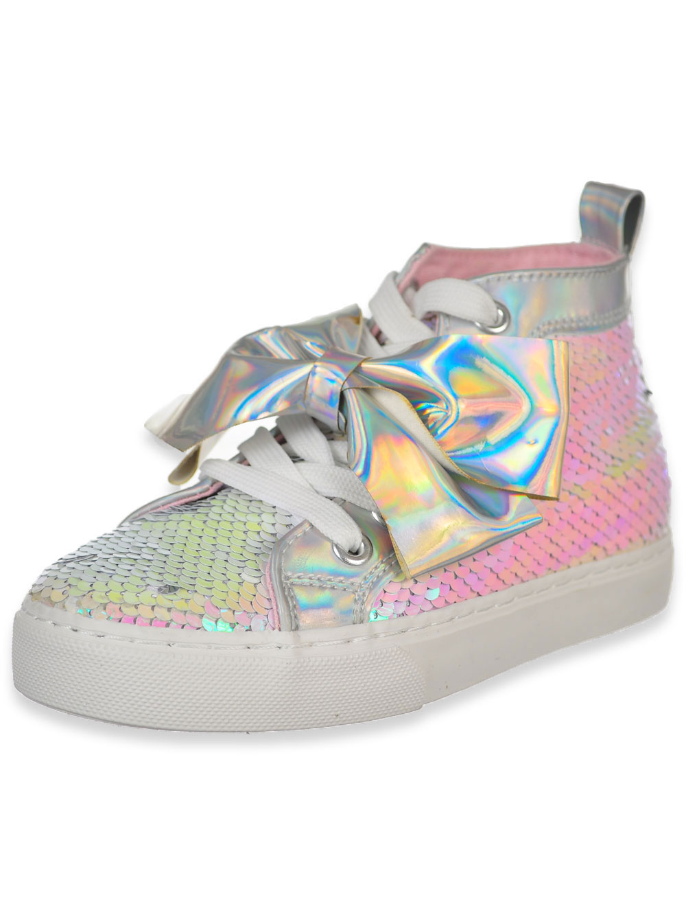 Jojo Siwa Girls' Hi-Top Sneakers (Sizes