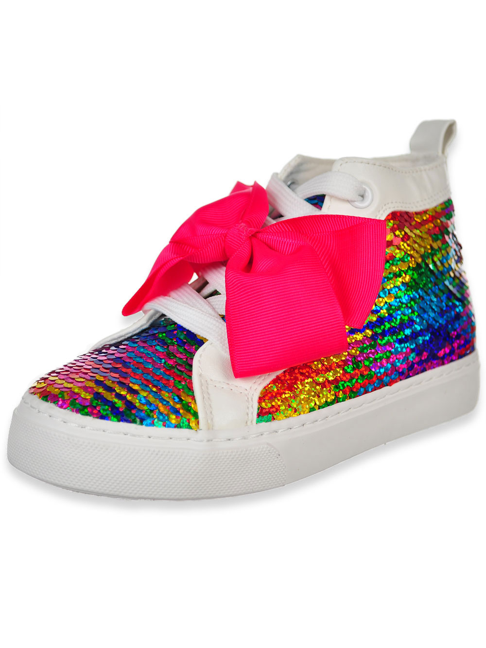 Girls Hi Top Sneakers By Jojo Siwa In Red Multi From Cookie S Kids