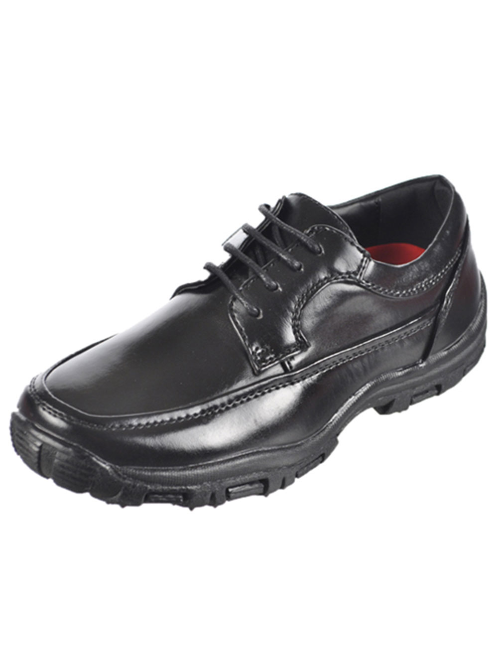 Image of Goodfellas Boys Dino Dress Shoes Youth Sizes 4  8  black 4 youth