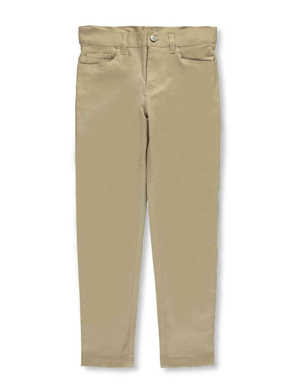 Galaxy Big Girls' School Uniform Pencil Pants (Sizes 7 - 16) - khaki, 14