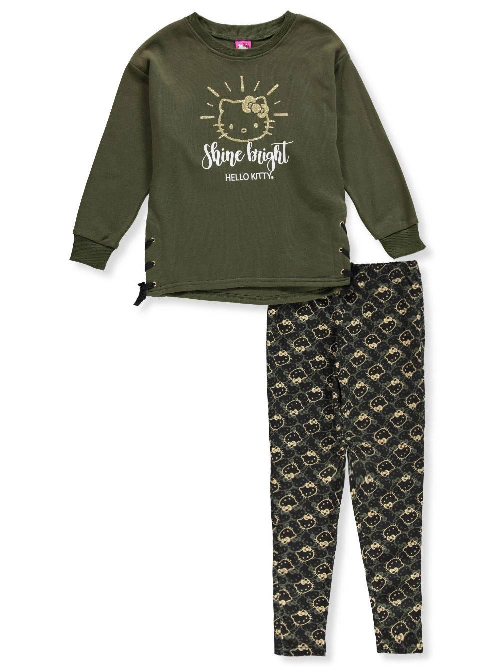 d01dbb231 Hello Kitty Girls' 2-Piece Leggings Set Outfit