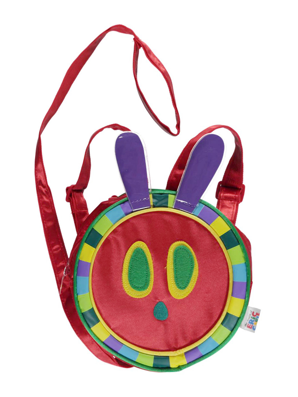 Image of The World of Eric Carle Plastic Antenna 2in1 Backpack Harness  red one size