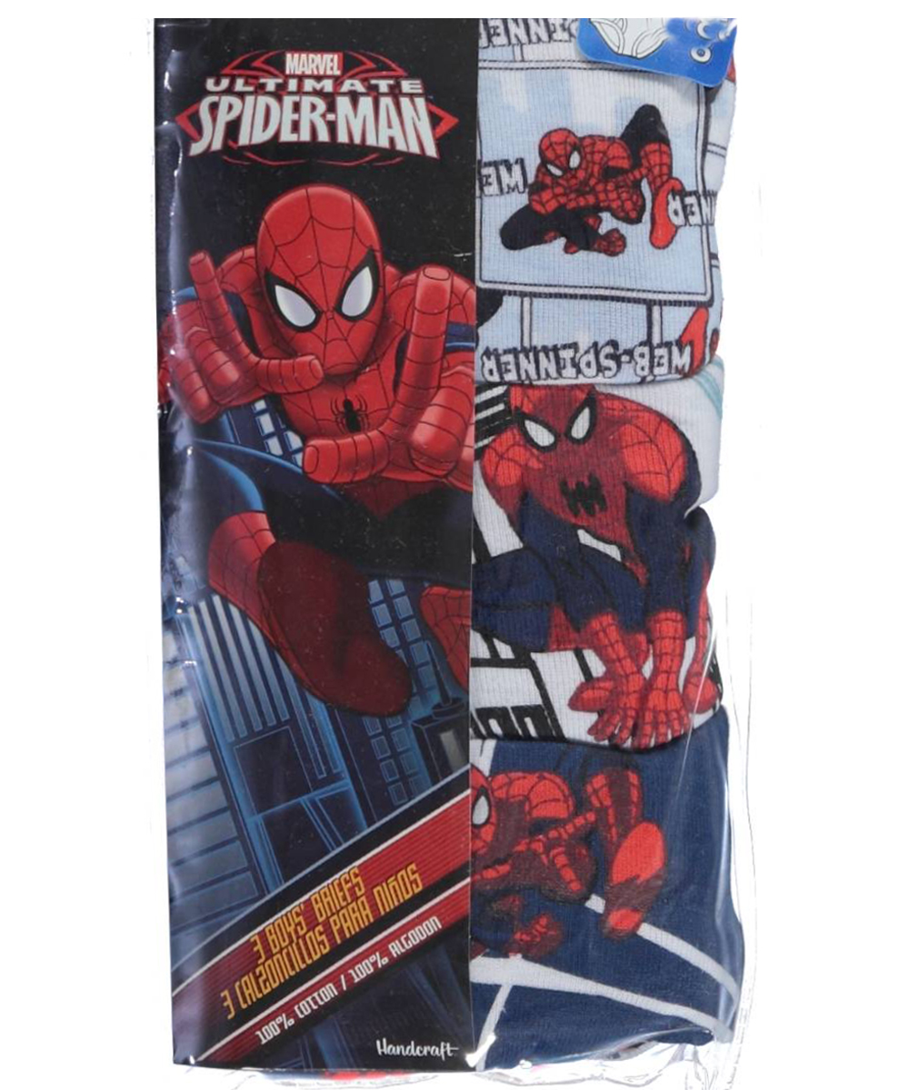 Image of SpiderMan Big Boys Spider Justice 3Pack Briefs Sizes 8  20  redmulti 8