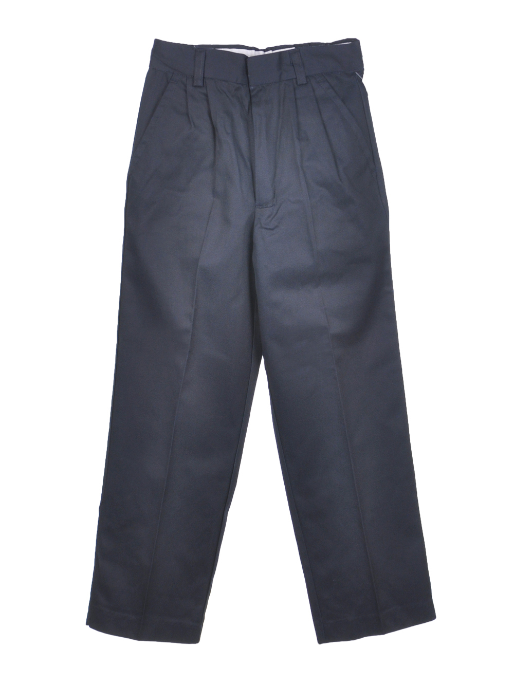 Image of Preferred School Uniforms Big Boys Pleated Pants Sizes 8  20  midnight navy 18