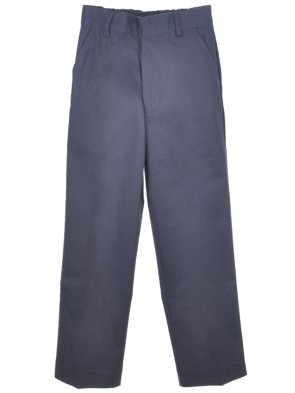 Image of Preferred School Uniforms Big Boys Double Knee Flat Front Pants Sizes 8  20  midnight navy 20