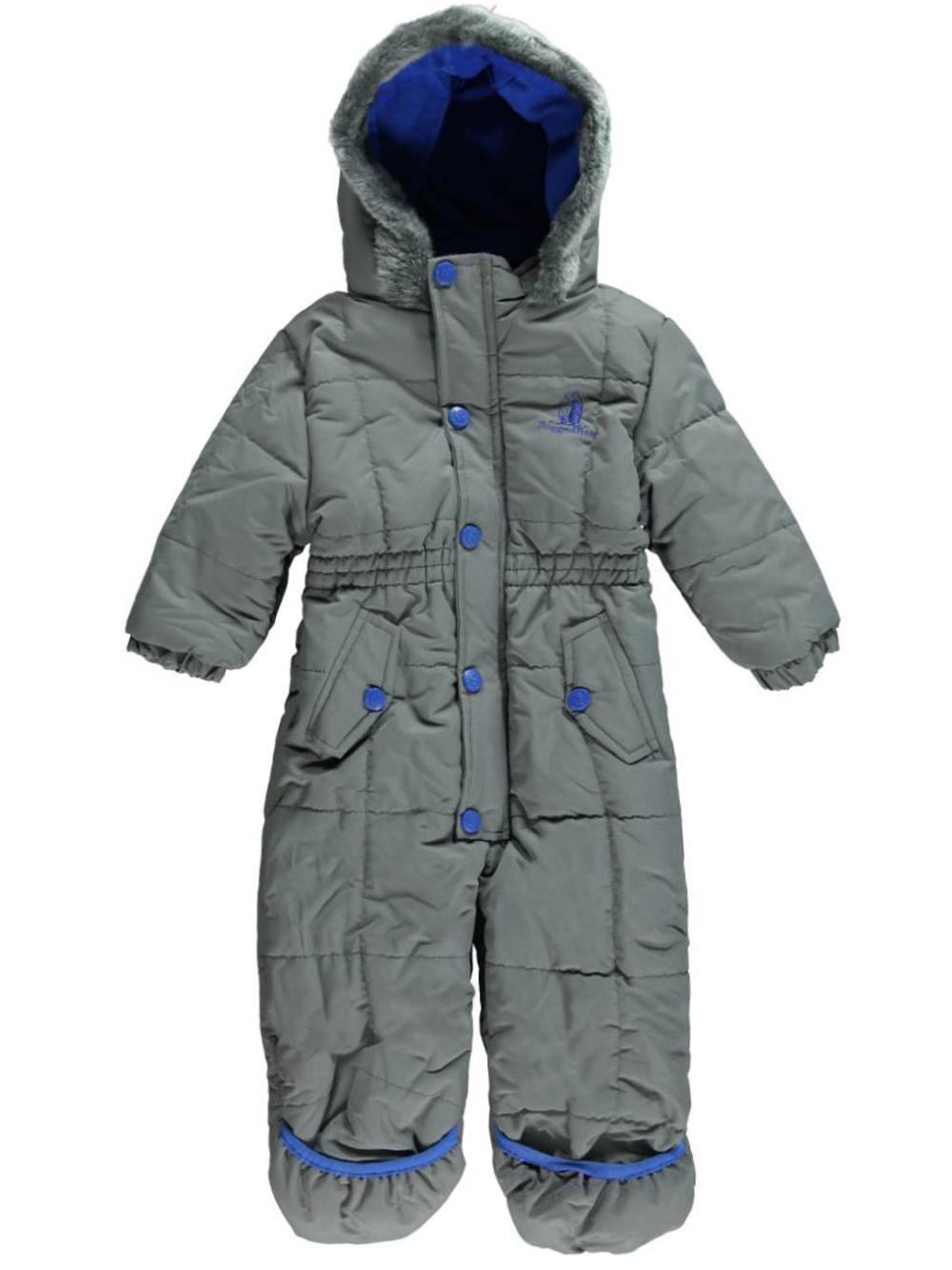 Rugged Bear Baby Boys All Bundled Snowsuit