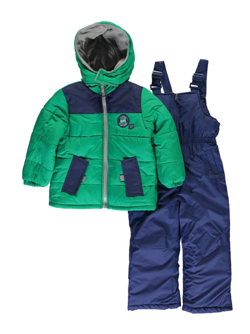 """5c062f3d0f2c iXtreme Little Boys  Toddler """"Hayden"""" 2-Piece Snowsuit (Sizes 2T – 4T)"""
