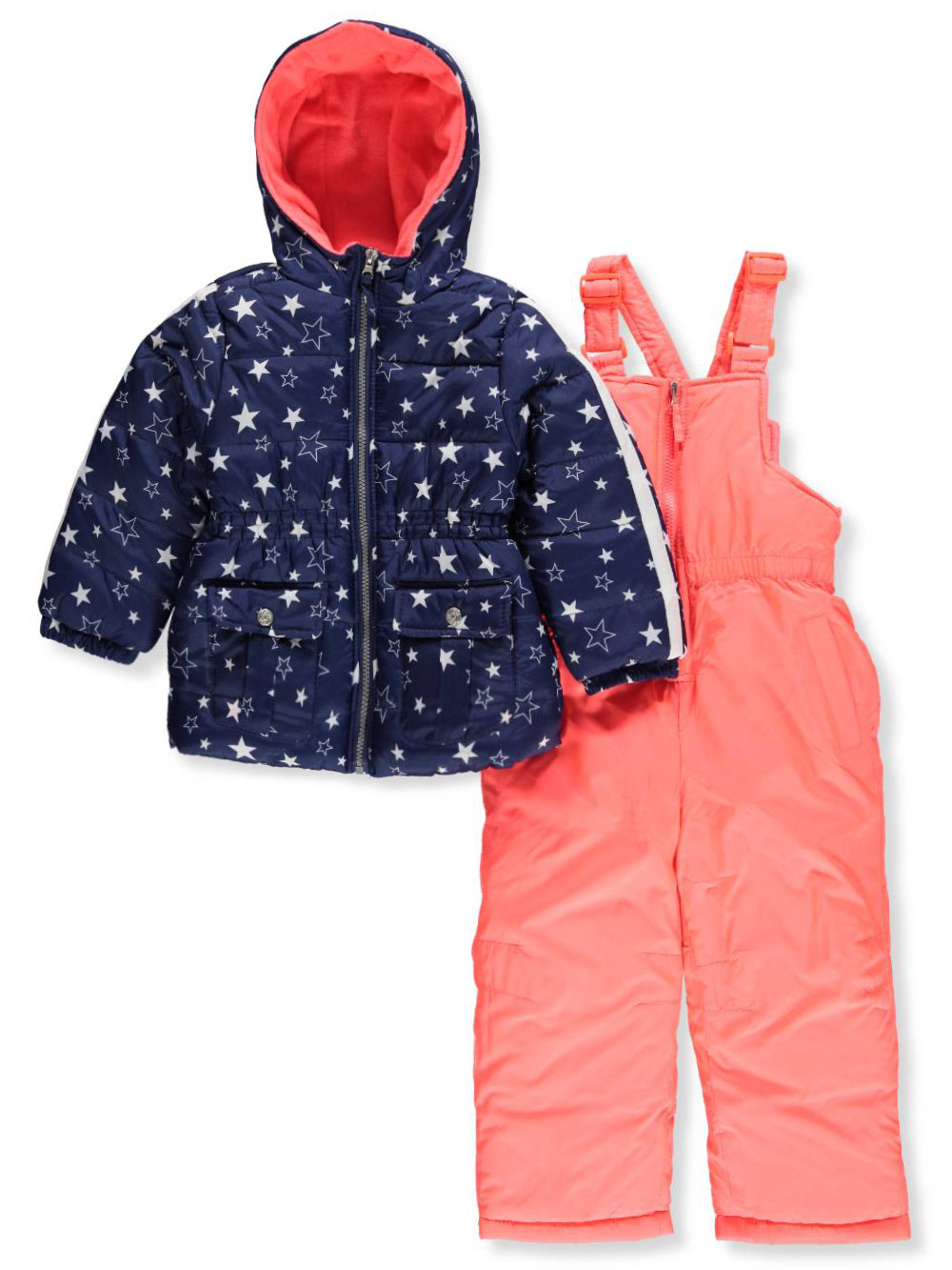 1e2e1a395 Pink Platinum Girls  2-Piece Snowsuit