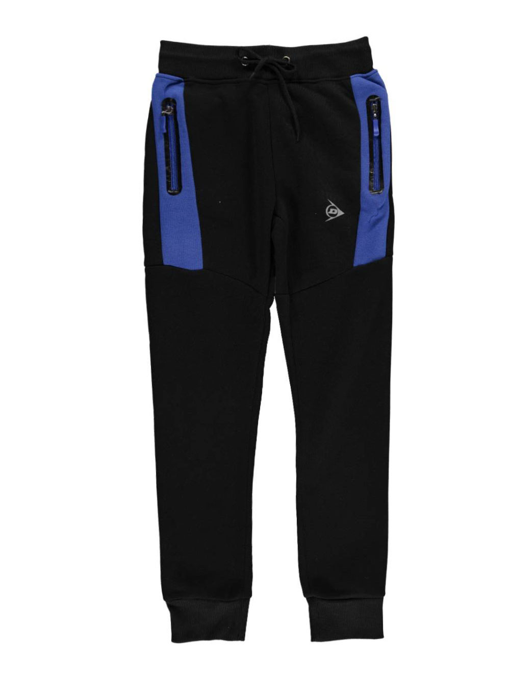 Image of Dunlop Big Boys Block Line Joggers Sizes 8  20  royal blue 1416