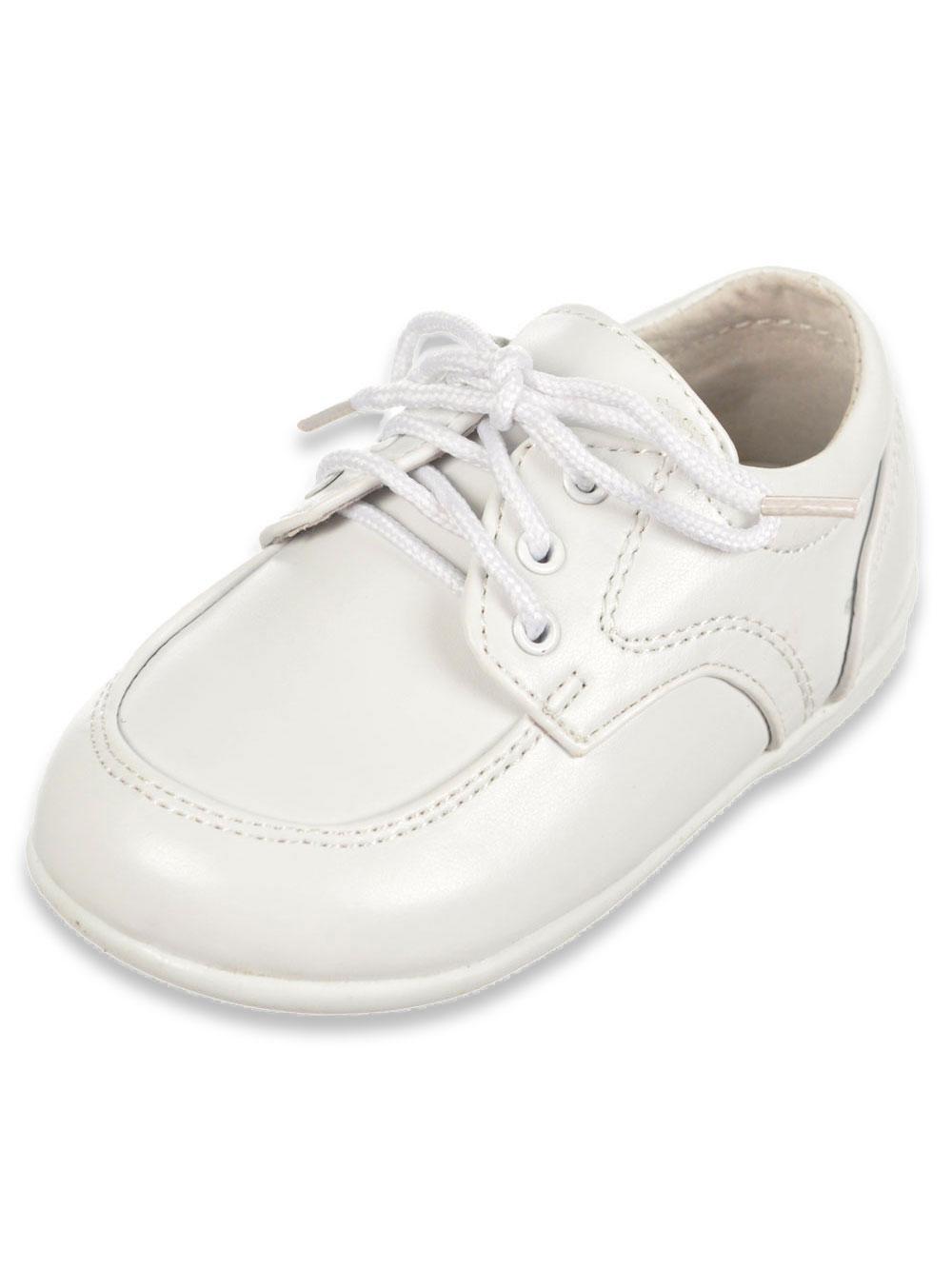 Image of Josmo Boys Mason Dress Shoes Infant Sizes 2  8  white 8 infant