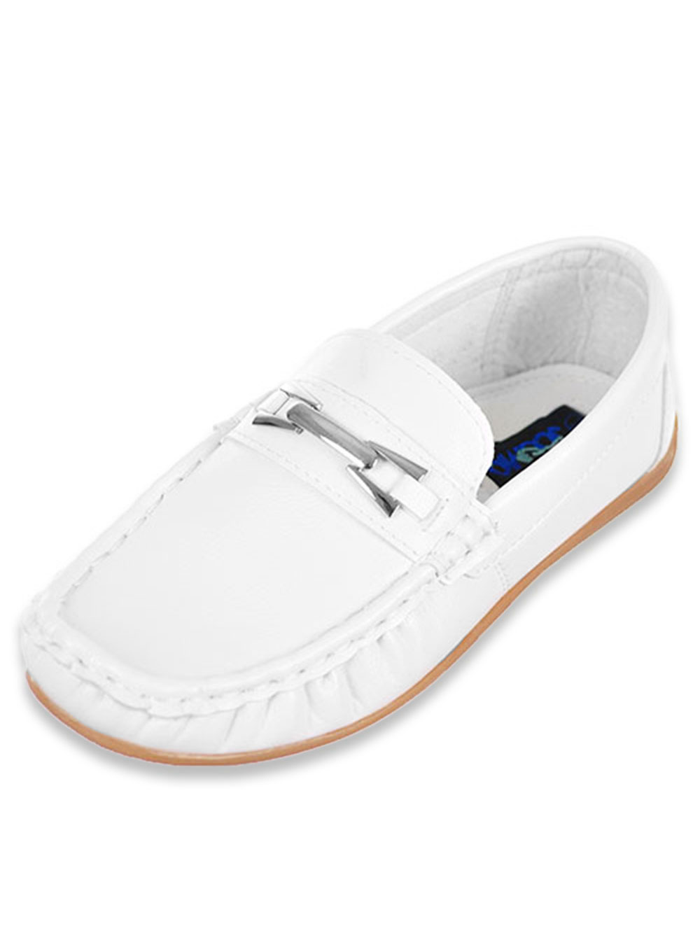 Easy Strider Toddler Boy/'s Metal Bit Fashion Loafer School Uniform Shoes