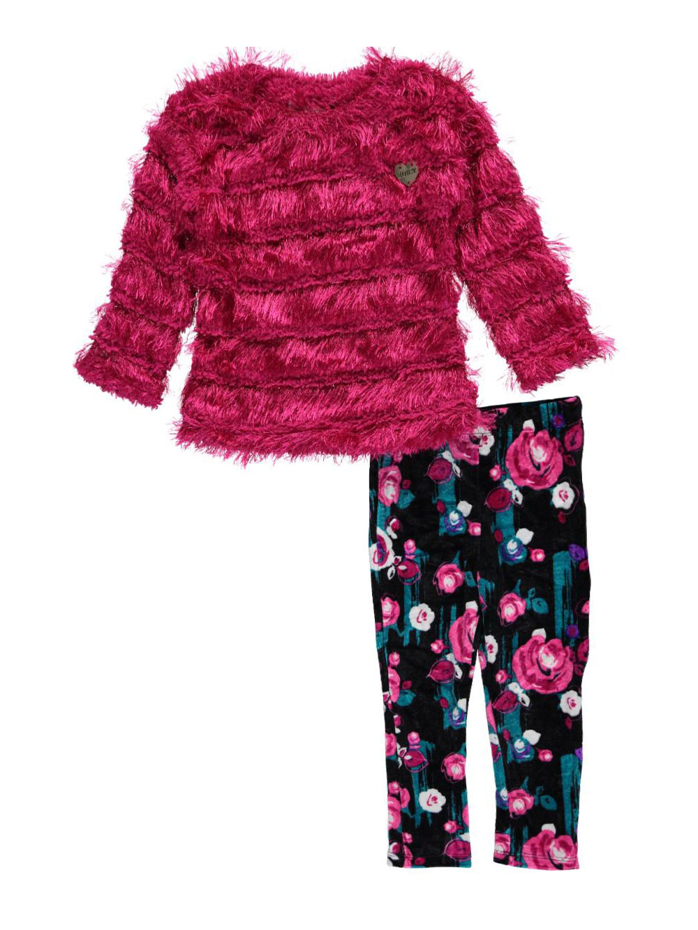 """Juicy Couture Baby Girls' """"Feathered"""" 2-Piece Outfit"""