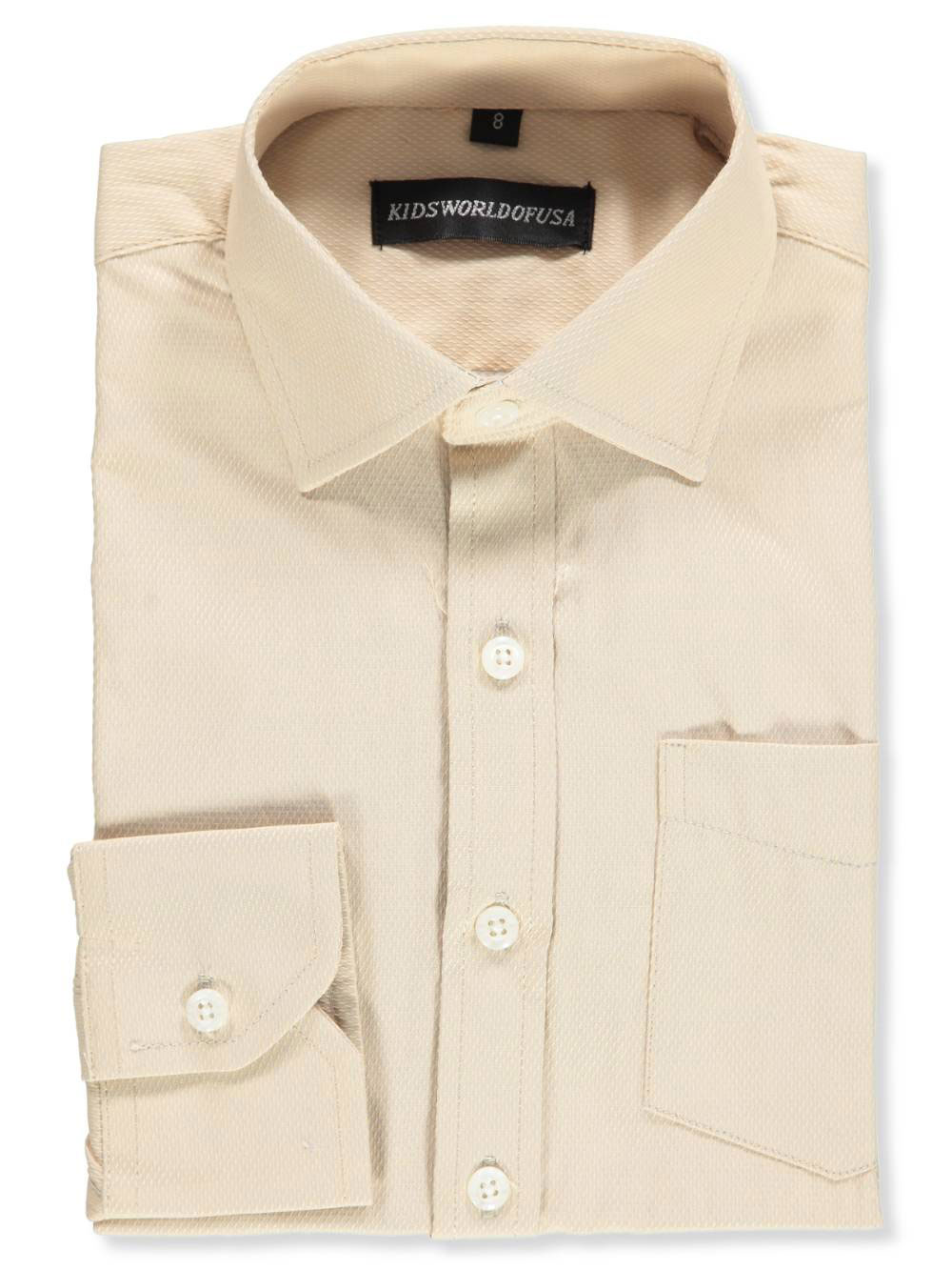 87118cec3 Kids World Boys  Dress Shirt