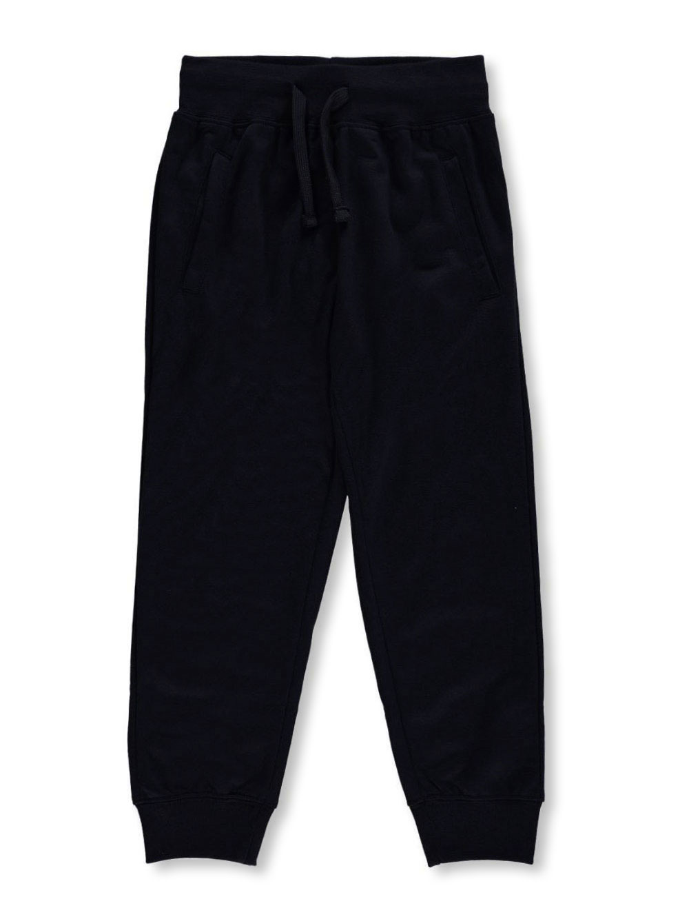 Image of Range Little Boys Classic French Terry Joggers Sizes 4  7  black 4