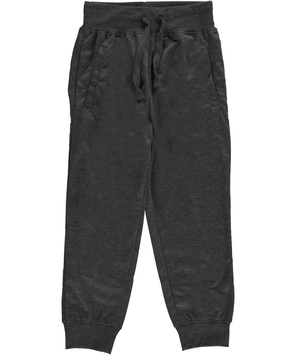 Image of Range Little Boys Classic French Terry Joggers Sizes 4  7  charcoal gray 4