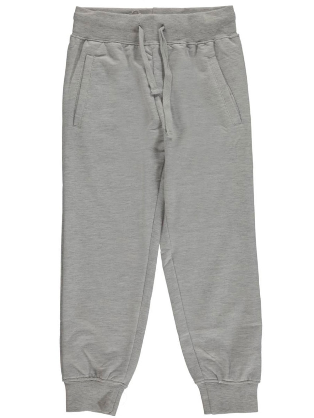 Image of Range Little Boys Classic French Terry Joggers Sizes 4  7  heather gray 4