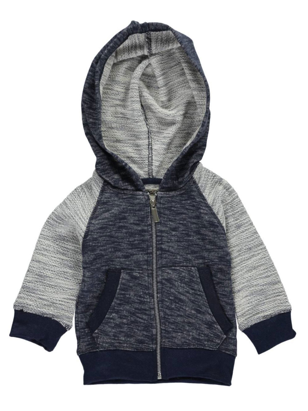 Image of Faze 1 Baby Boys Inside Out Hoodie  navy 24 months