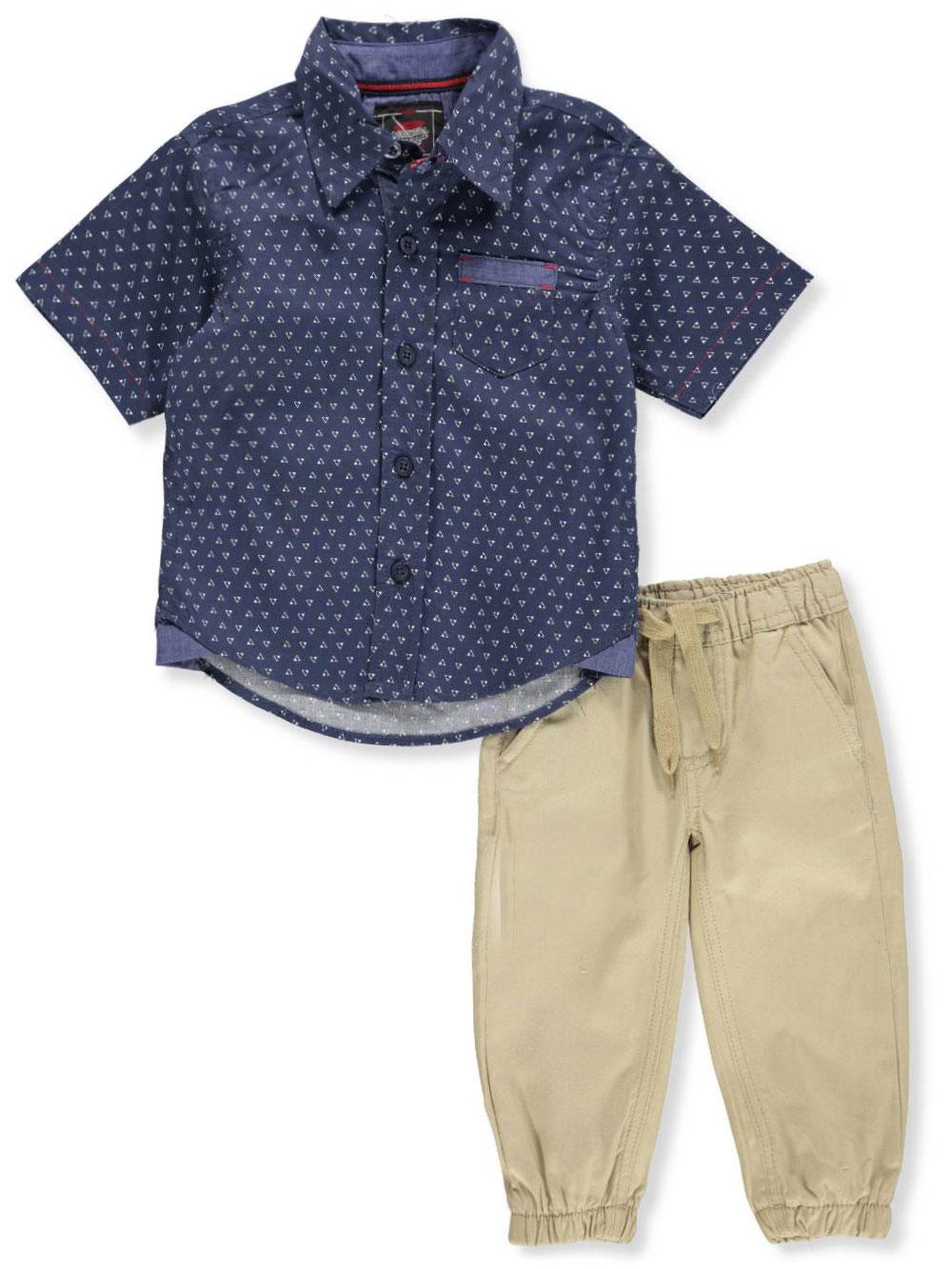 aa14fe1a3 Retro Stitch Baby Boys  2-Piece Pants Set Outfit