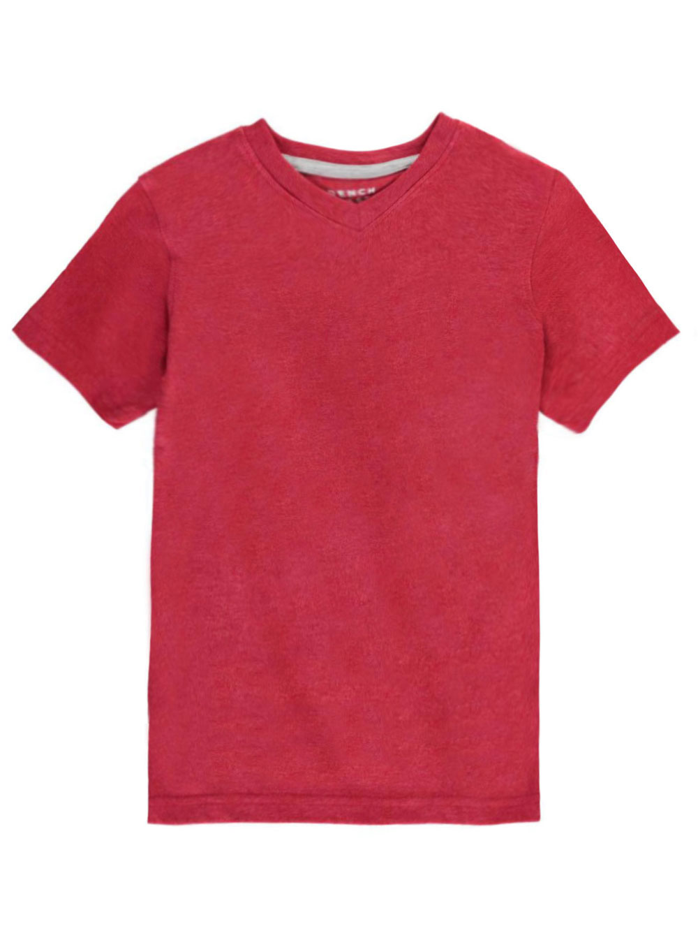 Image of French Toast Little Boys VNeck TShirt Sizes 4  7  heather red 7