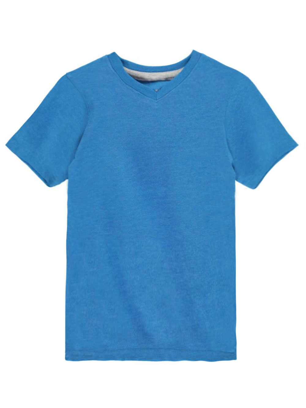 Image of French Toast Little Boys VNeck TShirt Sizes 4  7  bright blue 4