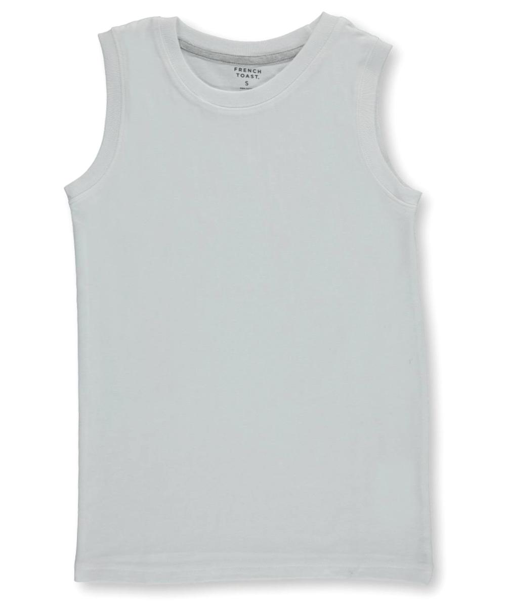 Image of French Toast Big Boys Sleeveless TShirt Sizes 8  20