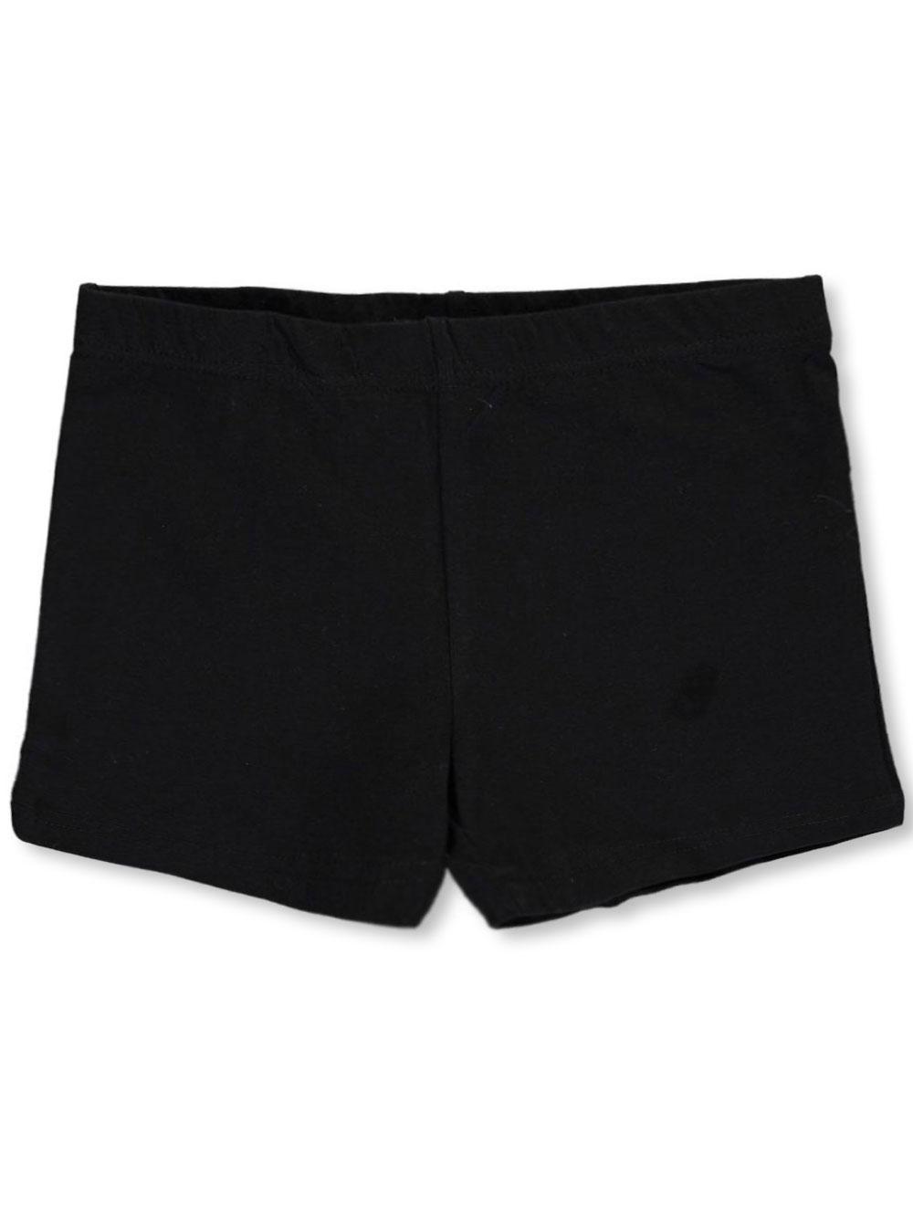 Image of French Toast School Uniform Big Girls Bike Shorts Sizes 7  16  black 7  8