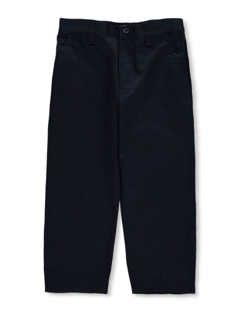 Image of French Toast School Uniform Little Boys Toddler Pleated Wrinkle No More Relaxed Fit Pants Sizes 2T  4T  navy 2t