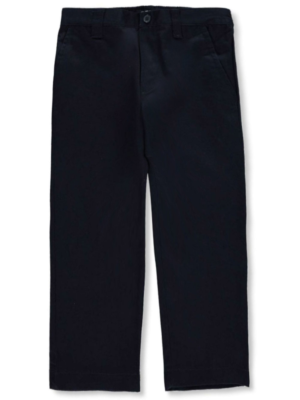 Image of French Toast School Uniform Little Boys Pleated Wrinkle No More Relaxed Fit Pants Sizes 4  7  navy 4