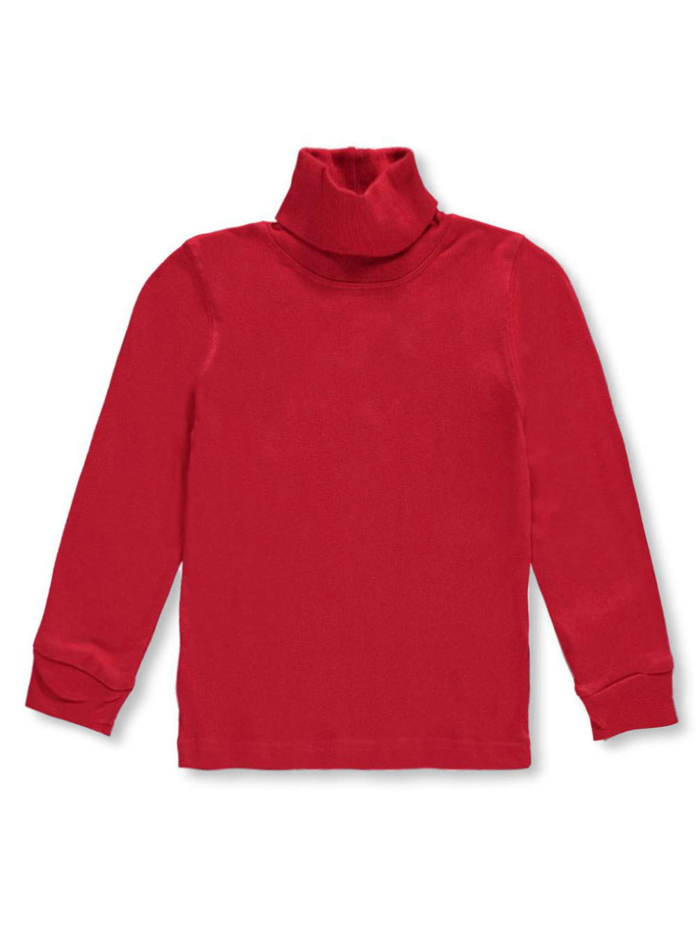 Image of French Toast Little Boys Toddler Basic Turtleneck Sizes 2T  4T  red 2t