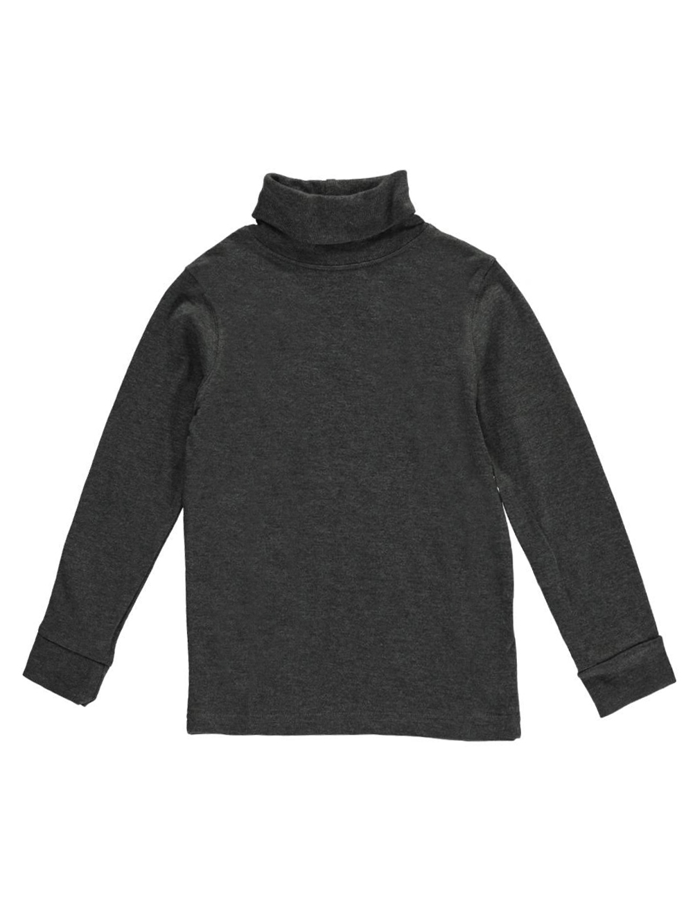 Image of French Toast Little Boys Toddler Basic Turtleneck Sizes 2T  4T  charcoal gray 2t