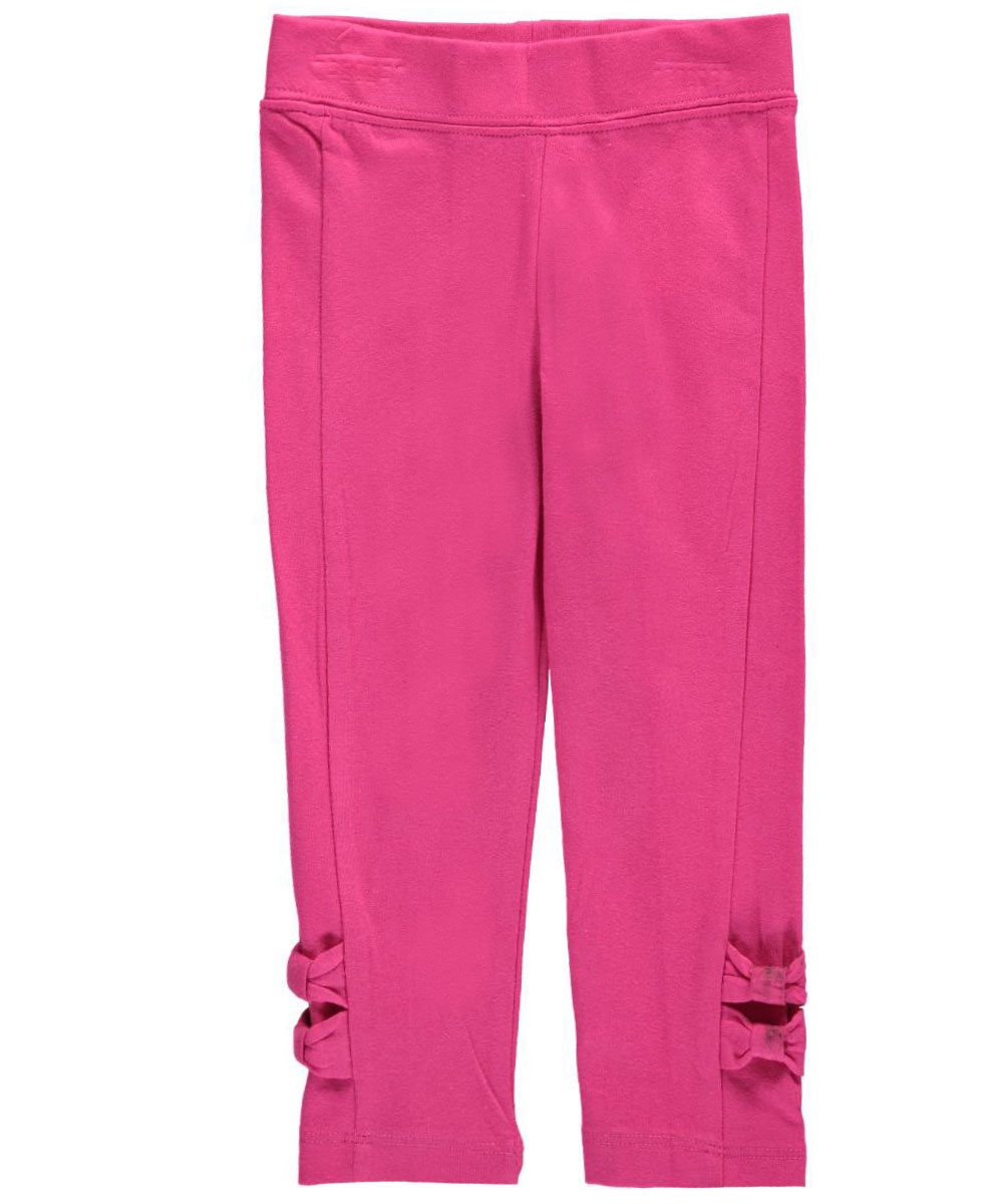 Image of French Toast Baby Girls Sweet Bow Leggings  medium pink 12 months