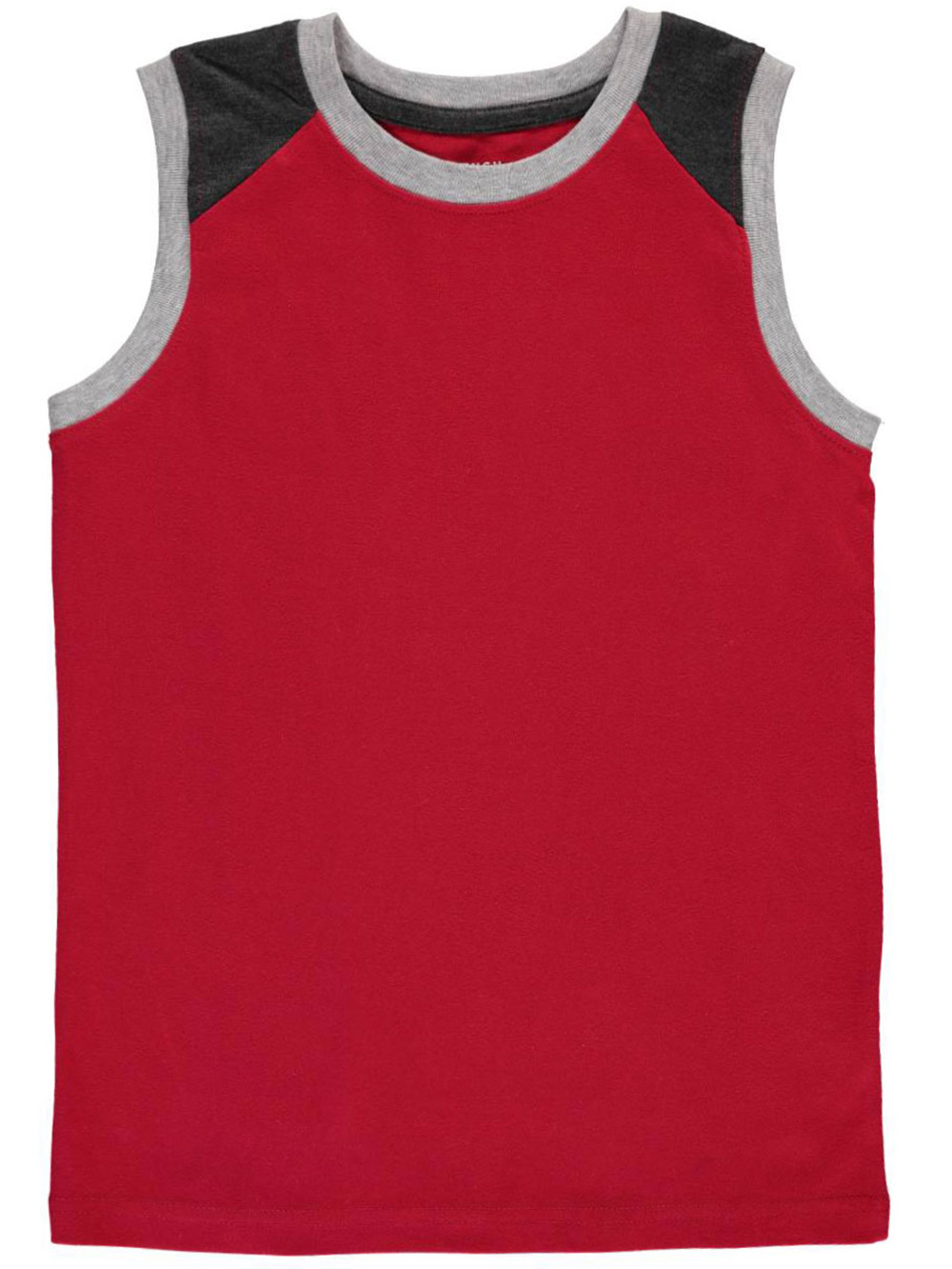 Image of French Toast Big Boys Muscle Sleeveless TShirt Sizes 8  20  red 1012