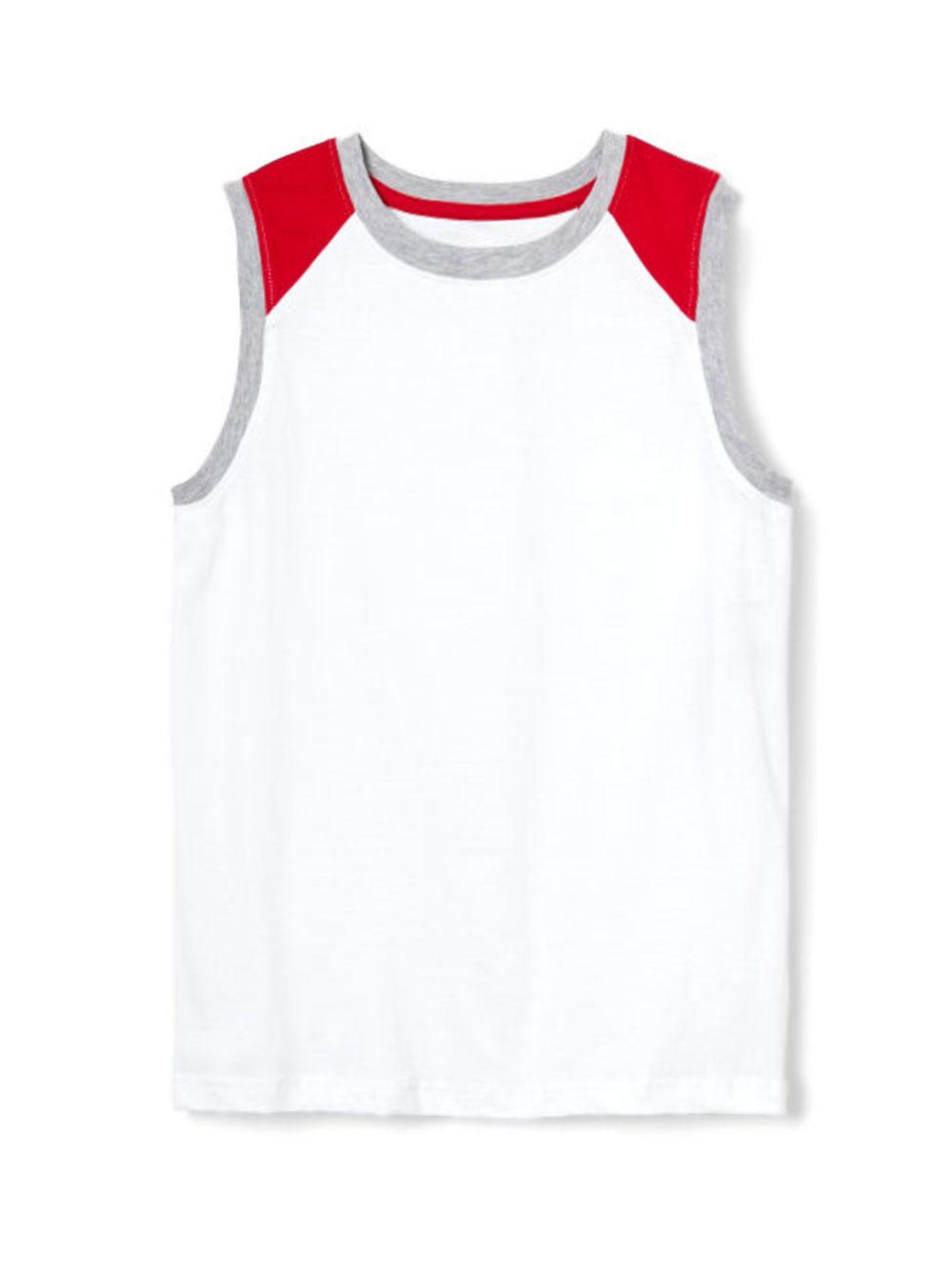 Image of French Toast Big Boys Muscle Sleeveless TShirt Sizes 8  20