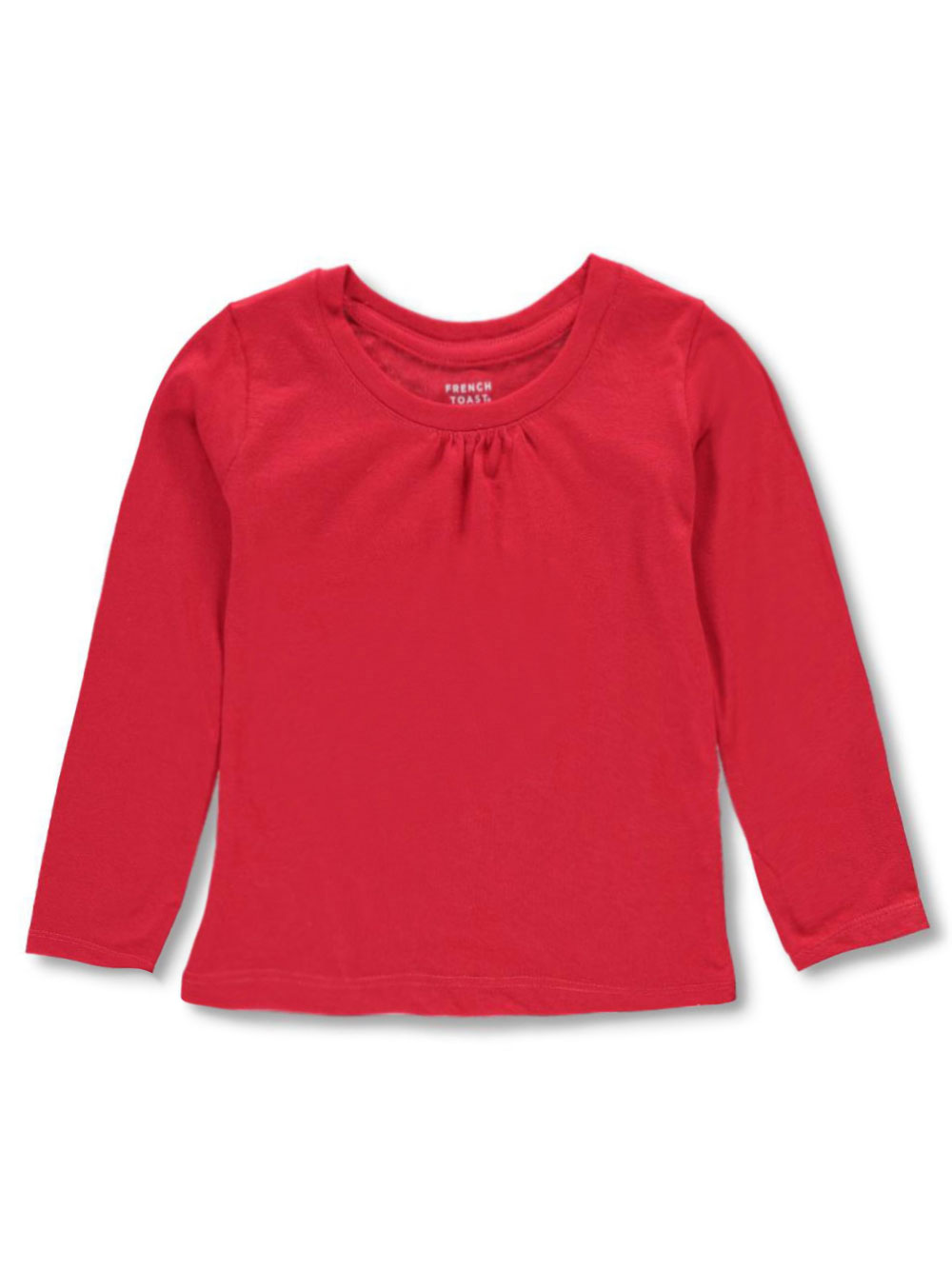 French Toast Baby Girls/' L//S Ruched Turtleneck