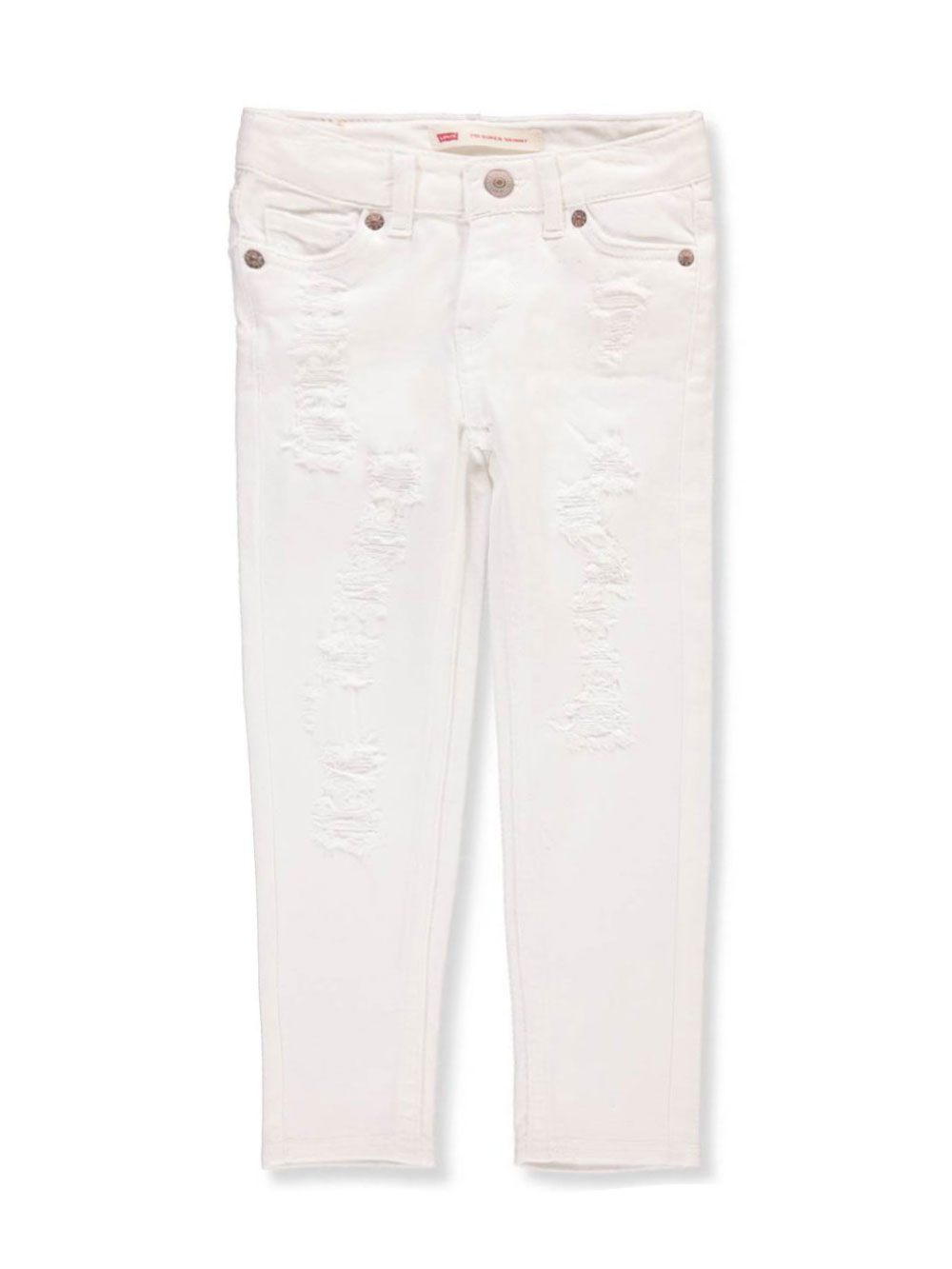 ef370be4b Girls' 710 Super Skinny Jeans by Levi's in rose and white from ...