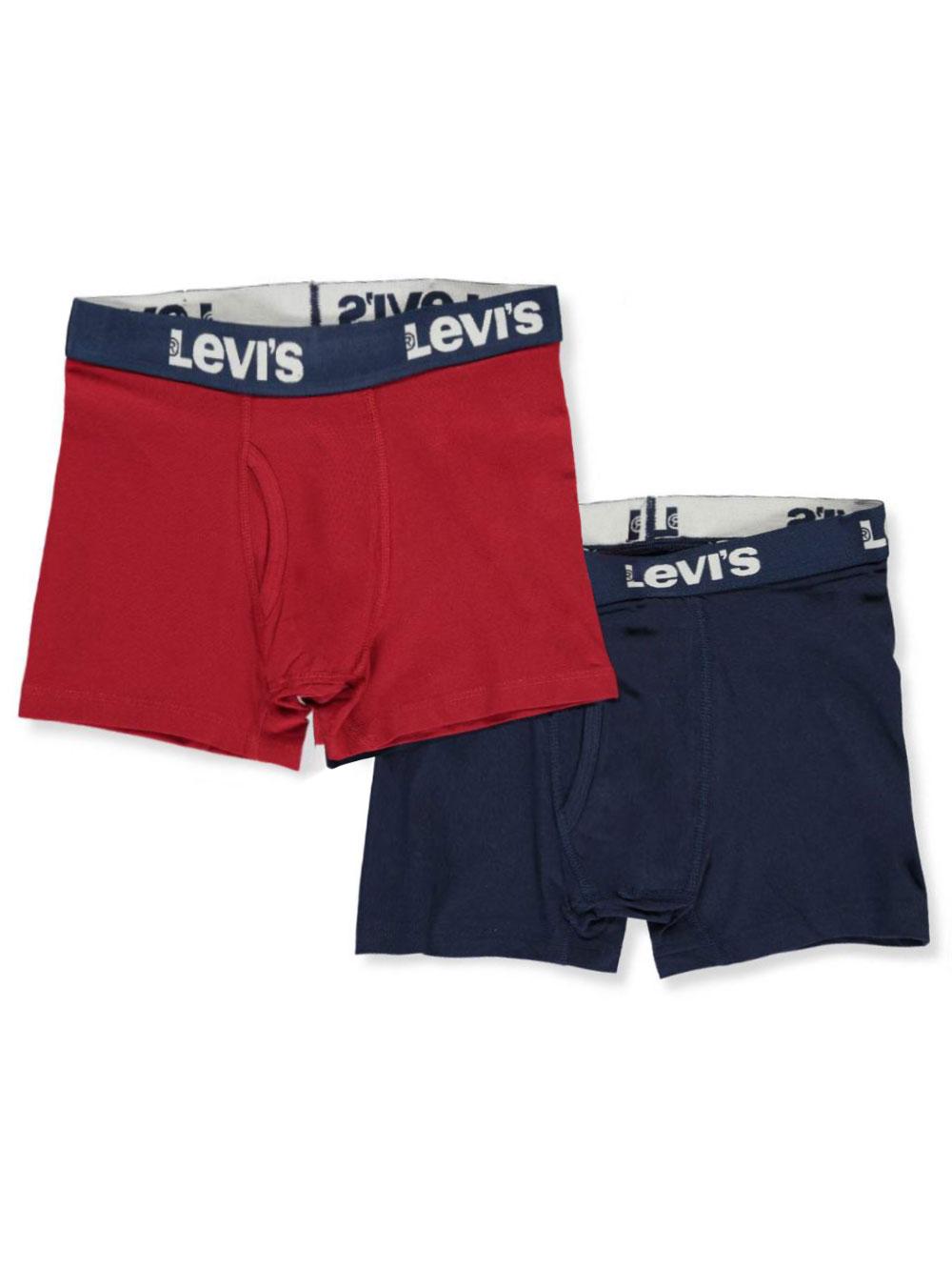 Kids Boxer Shorts Elastic Band Rib Classic Sports Boys Underwear Children Brief