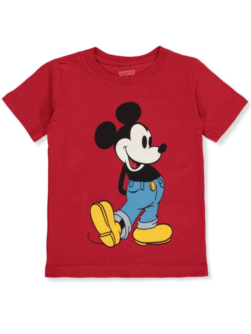 Boys Toddlers Mickey Mouse Cartoon Print T Shirt Kids Casual Top 12 mths Only