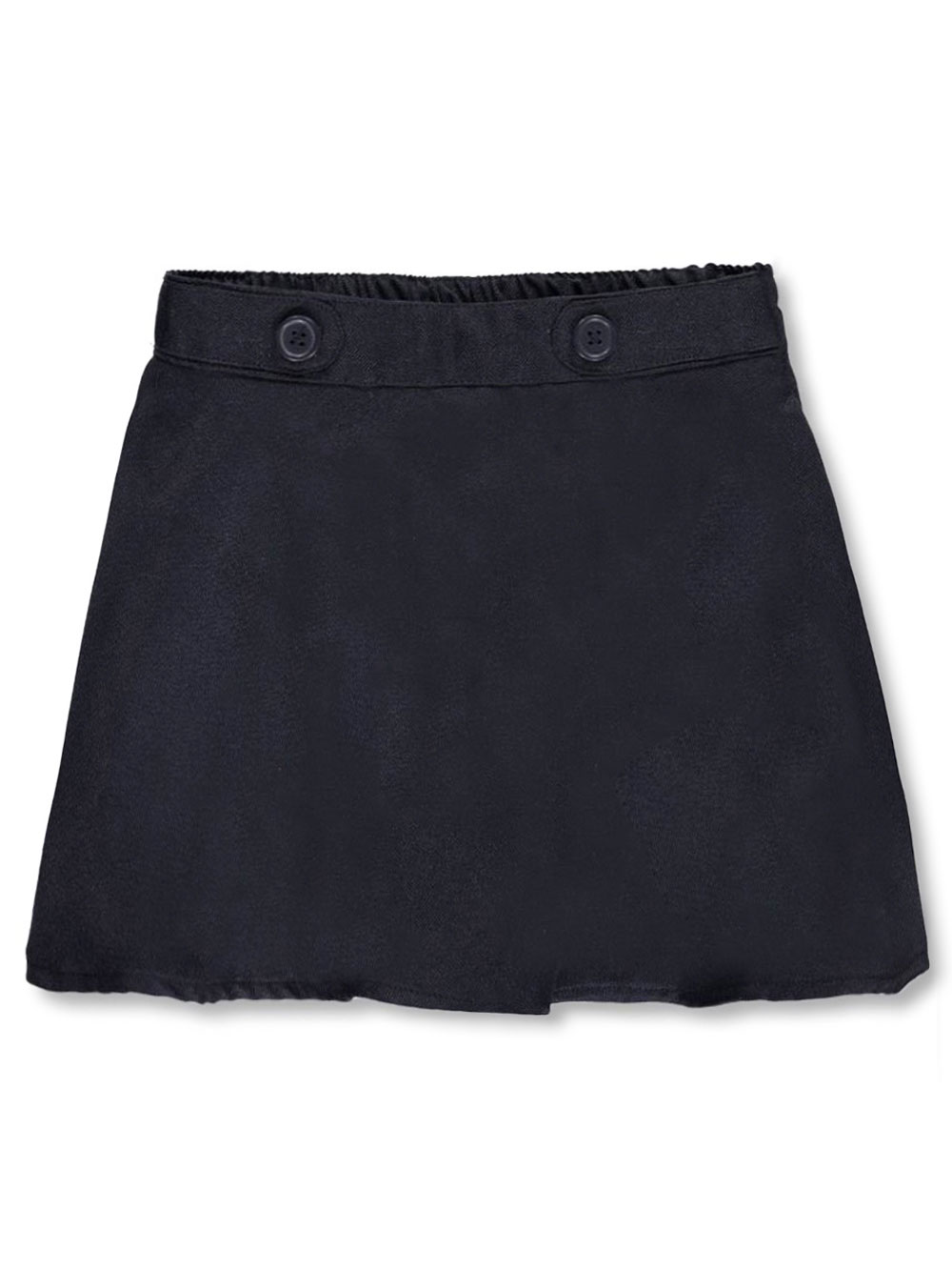 Image of Nautica Little Girls Button Tab Waist Scooter Skirt Sizes 4  6X