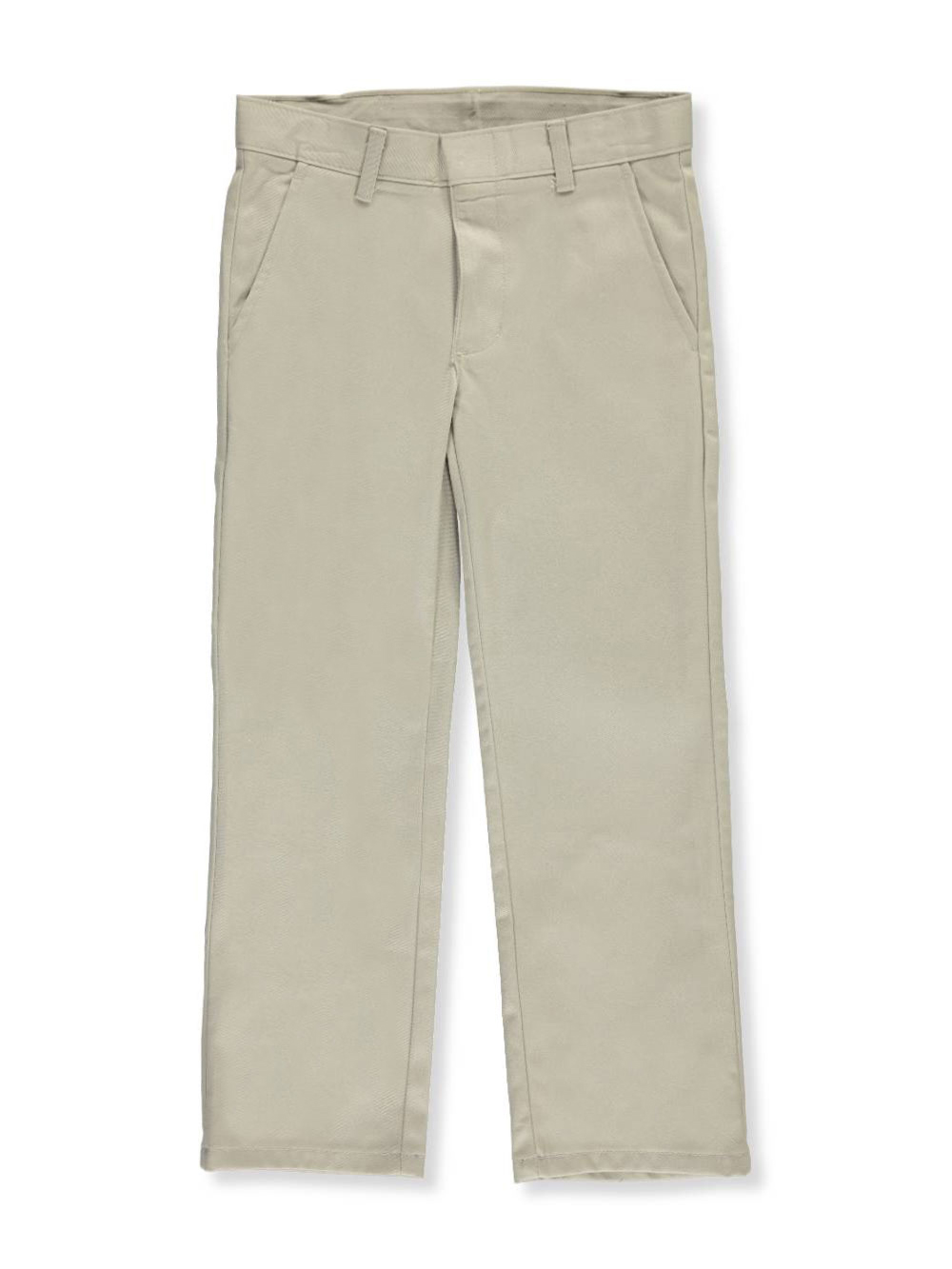 Nautica Big Boys Flat Front Uniform Double-Knee Dress Pant
